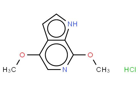 92214 - 4,7-dimethoxy-1H-pyrrolo[2,3-c]pyridine,hydrochloride | CAS 917918-79-7